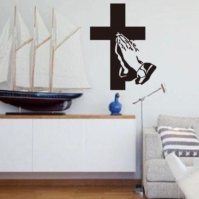 9856 Christian Jesus Kreuz Wandaufkleber Wohnzimmer Schlafzimmer Dekorative  Aufkleber Abnehmbaren Tapeten