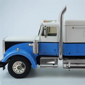 Image 3 - 1 pair Exhaust Pipes RC Model DIY For TAMIYA American King Truck Exhaust Pipe Metal Car Accessaries