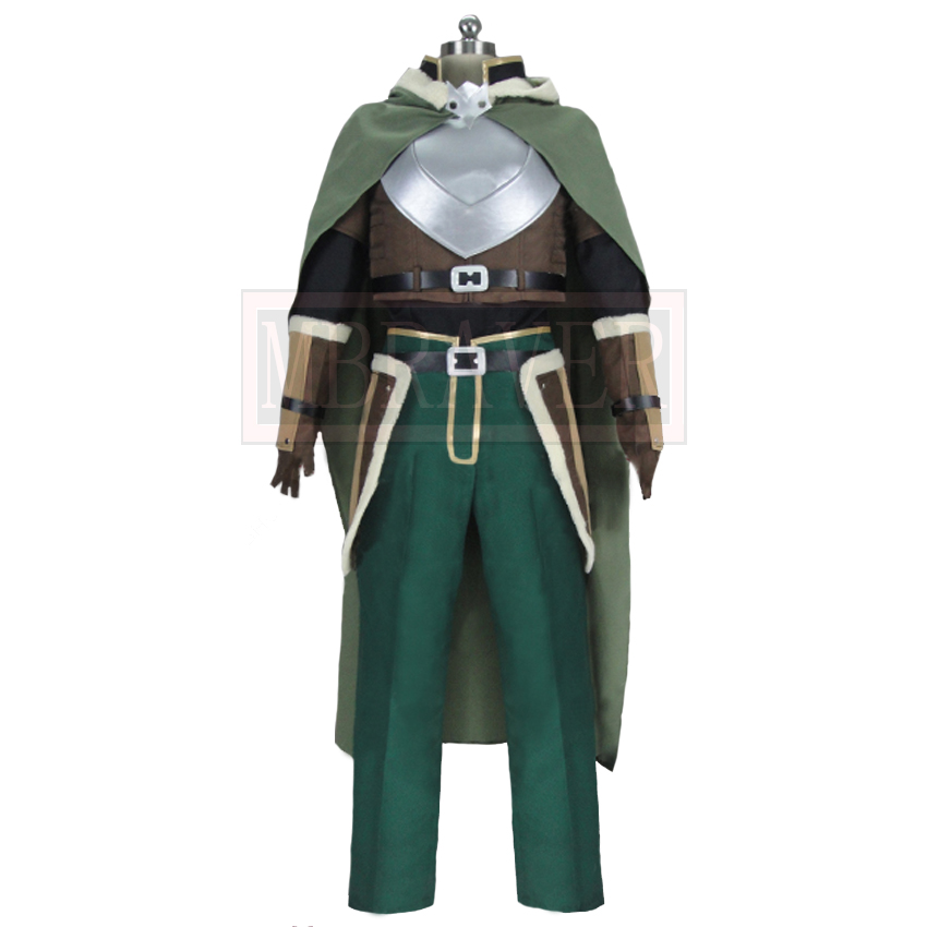 The Rising Of The Shield Hero Tate No Yuusha No Nariagari Naofumi Iwatani Halloween Cosplay Costume Custom Made Any Size