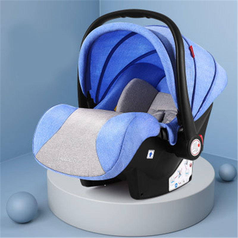 Baby Baskets Steam Simple Portable Car Seats Child Safety 0-3 Years Old Auto Seat  for High Landscape Push Cars