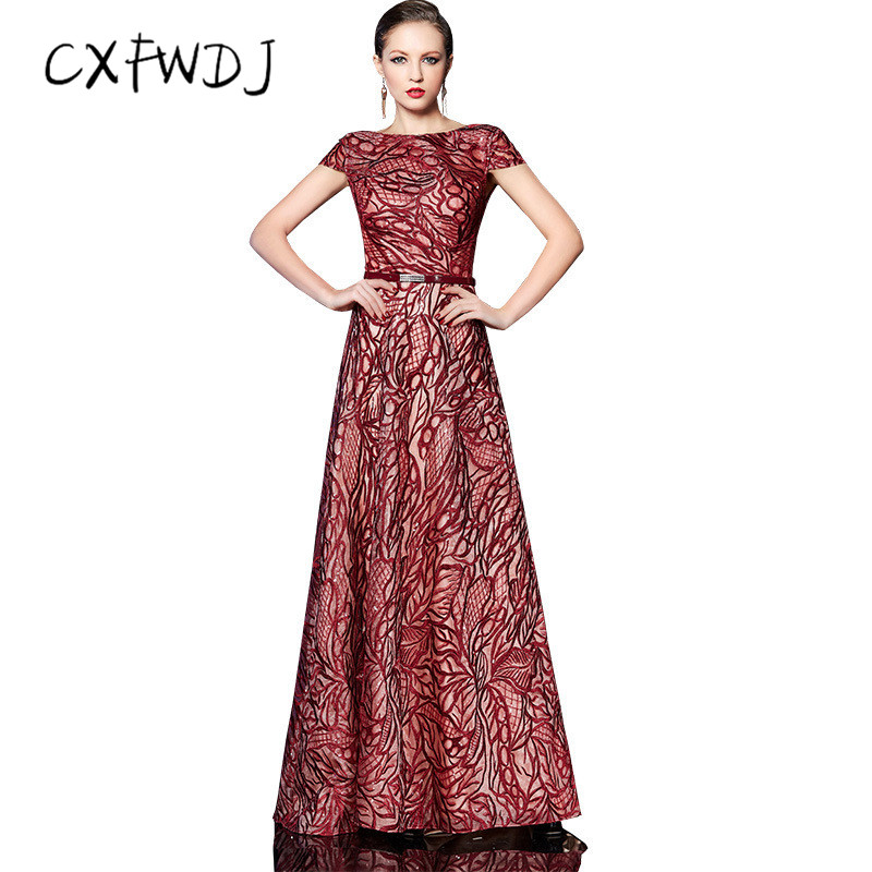 Красное вино ткань с блестками для вышивки алмазный пояс благородное выпускного вечера тост Костюмы долго уборка Для женщин вечерние плать