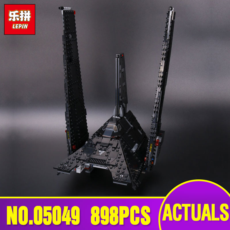 Lepin 05049 Star Series The Wars Shuttle Educational Building Blocks Bricks Toy Compatible Legoing 75156 model Christmas Gift цена