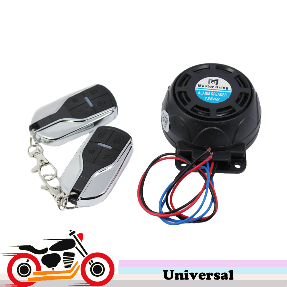 9-16V Anti-theft Motorbike Motorcycle Scooter Alarm System Security Universal