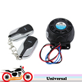 Black Motorcycle Bike Scooter Virbration Alarm Remote Control Anti-theft Security Alarm System for Harley Sportster Ducati VR46