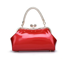 Women s Elegant PU Evening Handbags Ladies Luxury Wedding Bags