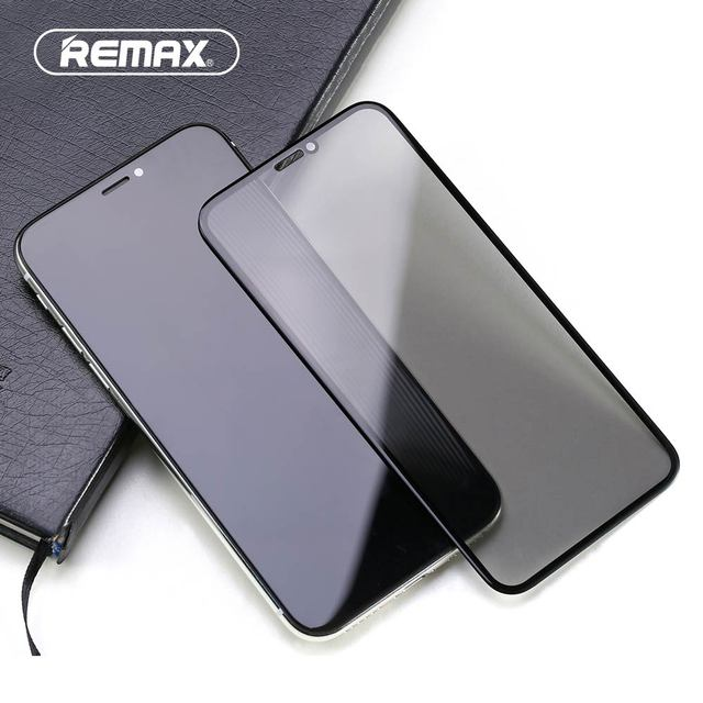 innovative design 930c4 f3b4c US $10.73 9% OFF|Remax Caesar Anti Privacy 3D Premium Privacy Tempered  Glass For iPhone X Anti Privacy Screen Protector For iPhone X Glass Film-in  ...