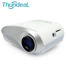 Lo nuevo 200 lúmenes 3D Projektor Beamer LED Eléctrico Portátil Pico Proyector Micro Mini Proyector de Vídeo HDMI USB VGA AV TV sintonizador