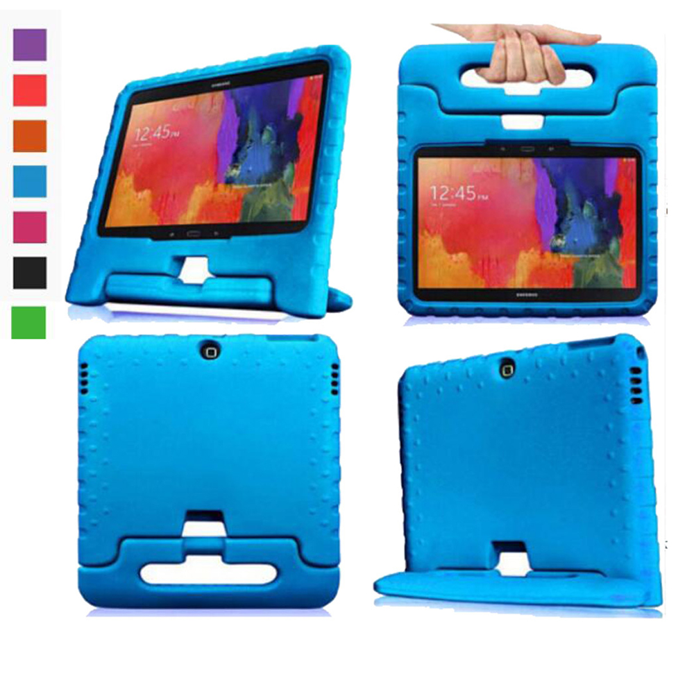 aliexpress 860f1 26d87 EVA Durable Kids Stand Back Cover Case For Samsung Galaxy Tab 4 10.1 T530  T531 T535/Tab3 10.1 P5200 P5210 Shock Proof +Pen