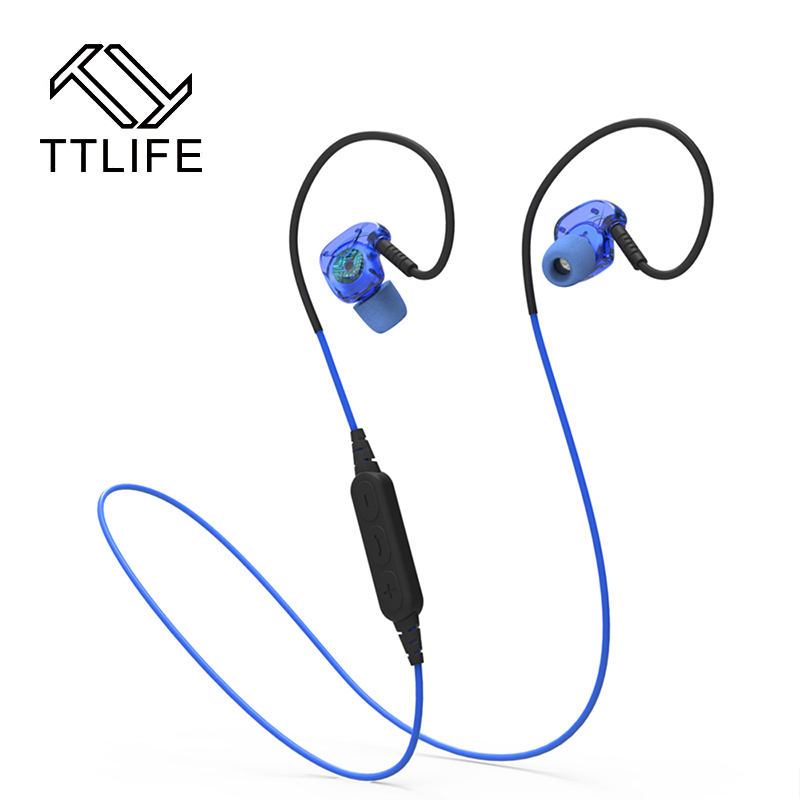 TTLIFE BX240 Bluetooth Headset IPX5 Waterproof Headphones Wireless Sports Stereo Bluetooth 4.1 Earphone With Mic fone de ouvido ttlife business headphones car call mini bluetooth headset earphone wireless earphone with mic for iphone xiaomi fone de ouvido