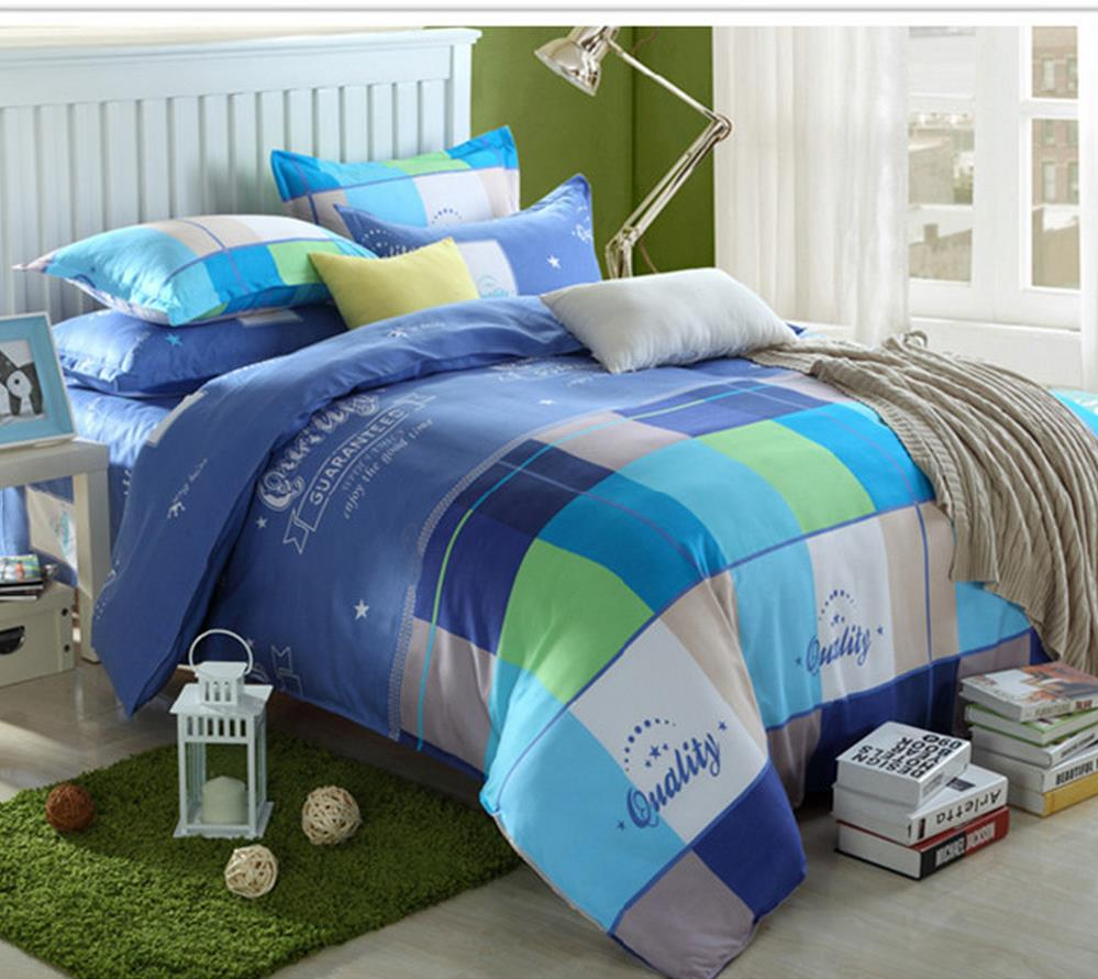 Free shipping meteor shower 4pcs Bedding, quilt cover quilt sheet 3pcs dormitory three-piece suit pillowcase