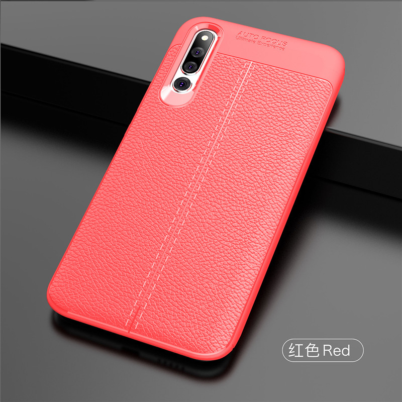 For Cover Huawei Honor Magic 2 Case Silicone PU Leather Phone Case For Huawei Honor Magic 2 Phone Case Cover Funda Honor Magic 2 in Fitted Cases from Cellphones Telecommunications