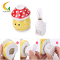US EU plug baby room nightlight energy-saving Halogen lamps ceramic aroma night light  children's switch night lights