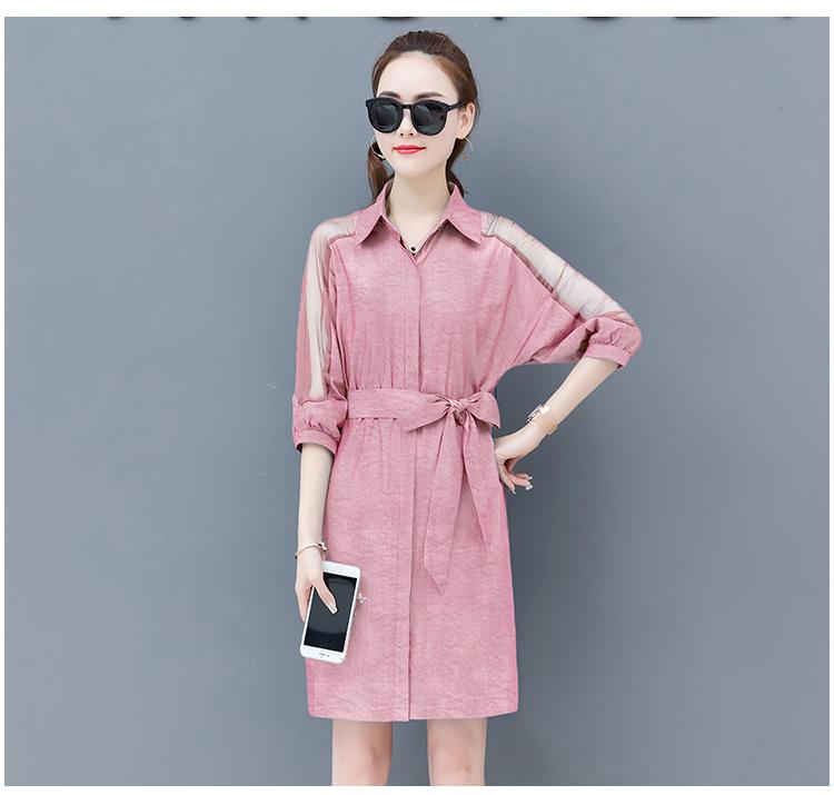 Dress female spring and autumn 2019 new fashion commuter slim strapless denim dress tide vestido Q280 14