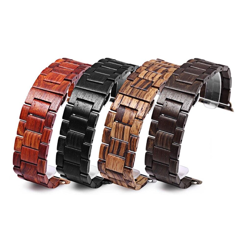 Uhren armband holz