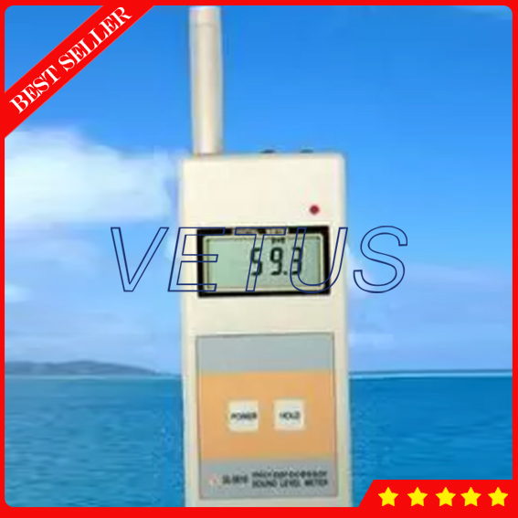 SL-5816 sound level meter noise meter Digital Sleep sound machine with noise db meter measuring A. 40-130dB