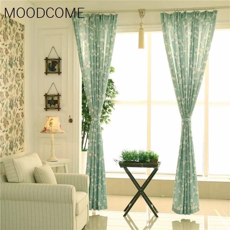 ᐅCorea del Sur rural fresca pequeña kapok flores sombreado cortina ...