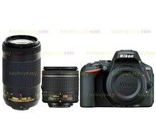 Nikon D5500 DSLR Camera Body & AF-P 18-55mm VR and Nikkor AF-P DX 70-300mm F/4.5-6.3G ED VR Lens