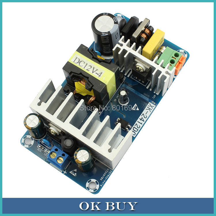 100W AC 85-265V 110V/220V To DC 12V 8A Industrial Switching Power Supply Board 50/60Hz meanwell 12v 350w ul certificated nes series switching power supply 85 264v ac to 12v dc