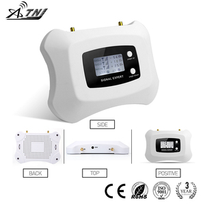 Image 2 - 2020 Full Intelligent LCD display 3G 2100MHz signal Repeater cellular signal booster amplifier work for Russia..etc Asia,Europe