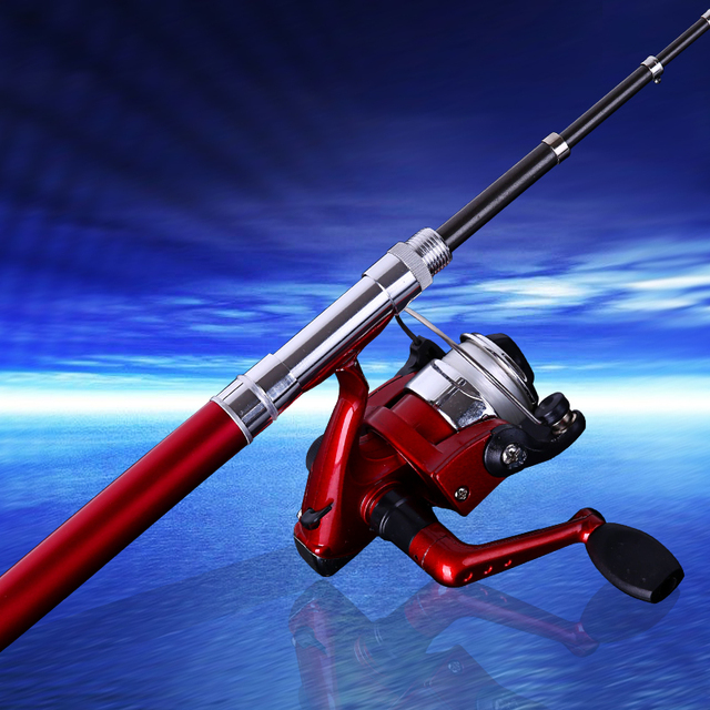 Winter Fishing Rod 24.7*14.1*6.5cm Feeder Telescopic Mini Fishing Rod Carbon Fiber Pen Fishing Rod Spinning Reel Pole Tackle