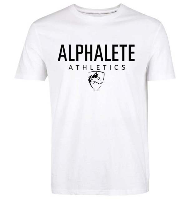 New 2016 Spring Summer Gymmer Shark Alphalete Print Men'S T-Shirt