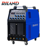 RILAND TIG315P AC/DC Square Wave Pulse Argon Arc Welding Iron Copper Stainless Steel Aluminum Welding Machine 380V
