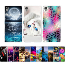 For Sony Xperia X F5121 Dual F5122 Case 3D Painting Fundas For Sony X Cover Soft TPU Silicone Coque For Sony X 5.0'' Phone Cases