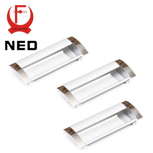 NED Deluxe 64 MM Fundición de Aleación de Aluminio Moderna Incrustar ...