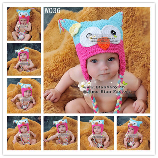 2015 Fast Delivery Free Shipping Crochet Animal Hats Handmade