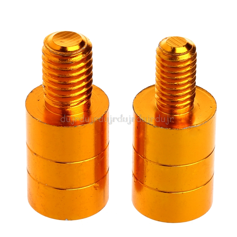 Fishing Landing Net Handle Connector Thread Adapter 10mm To 8mm 8mm To 10mm New N06 Dropship