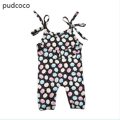 3bd0a096f7b Summer Newborn Baby Girl Cotton Cake Print Rompers Sleeveless Belt Romper  Jumpsuit Outfits Sunsuit Clothes One ...