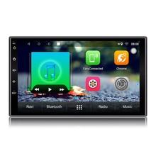 2 Din Android 6.0 Car Radio Stereo 7″1024*600 Universal Car Player GPS Navigation Wifi Bluetooth USB Radio Audio Player(No DVD)