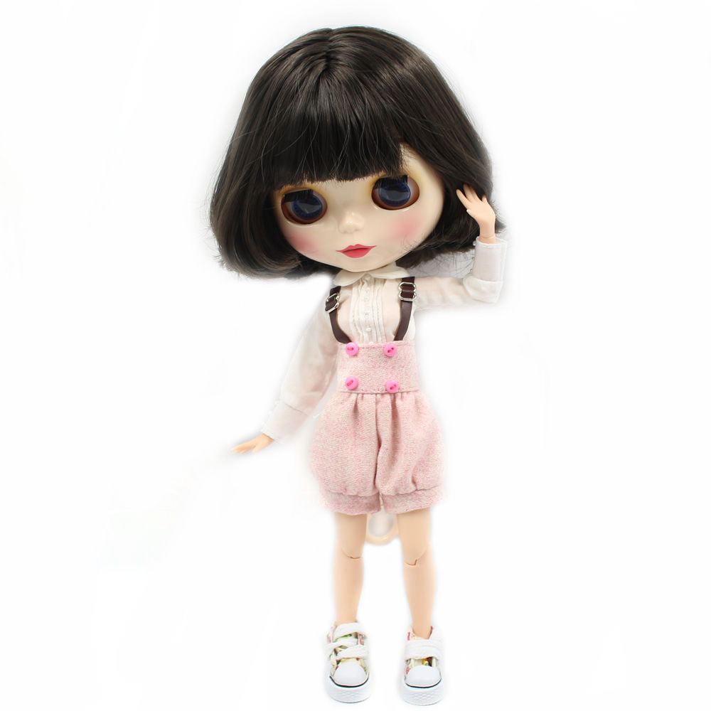 Blyth Nude Joint body doll 12 styles Big eyes suitable DIY makeup doll model toys blyth/Bjd dolls for sale blyth nude doll joint body with long wavy white hair 4 colors big eyes 1 6 bjd blyth dolls suitable diy makeup toys