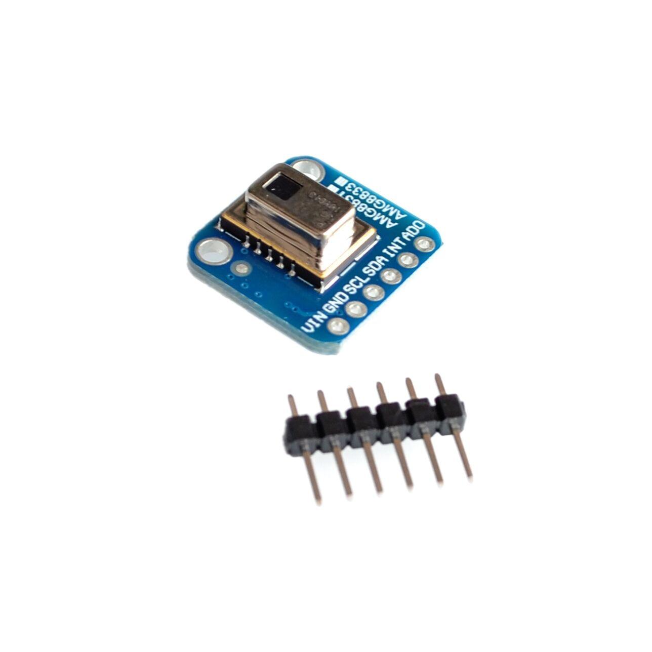 AMG8833 IR 8*8 Module de capteur de température de matrice d'imageur thermique 8x8 capteur de caméra infrarouge