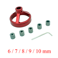 1 PC Woodworking Tool 08560 Drill Guide Vertical Drilling Fixture With 5 Pcs Of Bushings