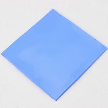 10 Pcs Gdstime 100mm x 5mm Blue White Thermal Pad GPU CPU Heatsink Cooling Conductive Silicone Pads 100x100x5mm gpu cpu heatsink cooling thermal conductive silicone pad 100mmx100mmx0 5mm