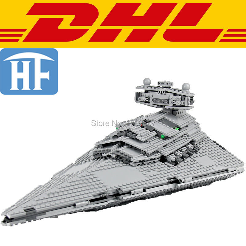 05062 1359Pcs Star Wars Imperial Star Destroyer Model Building Kits Blocks Bricks Toys For Children Gift Compatible With 75055 new lepin 22001 pirate ship imperial warships model building kits block briks toys gift 1717pcs