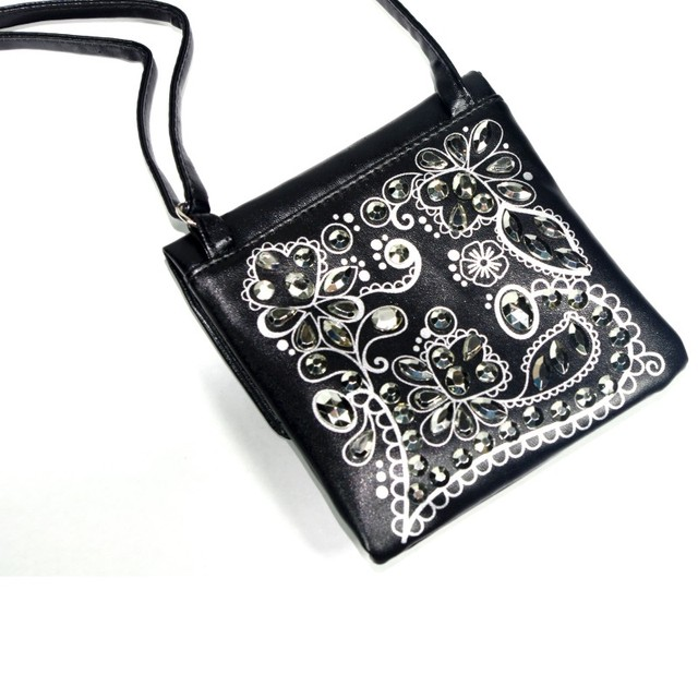 Diy toys stick puzzle shining purse