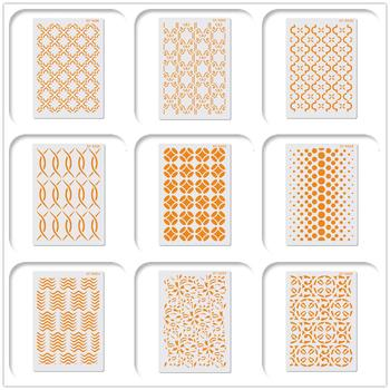 цена на New Lace Design Cake Stencil Cake Tool Plastic Painting Layering Stencils For DIY Scrapbooking Art Drawing Stencil Template