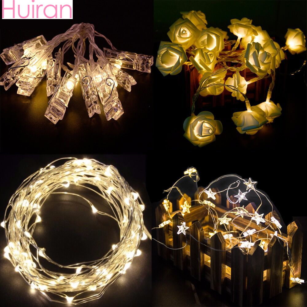Aliexpress.com : Buy HUIRAN Christmas Led String Plastic ...