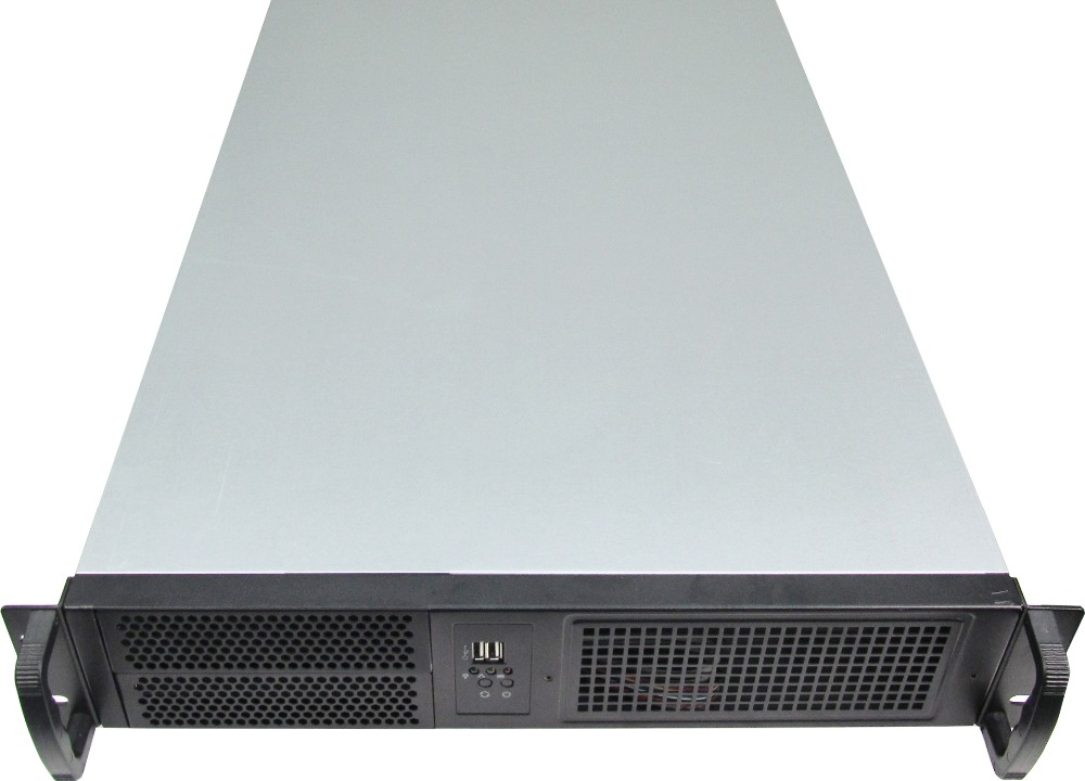 industrial computer Server Chassis 660mm lengthen 2u rear window Can be replaced USB19 inch rack server Computer case