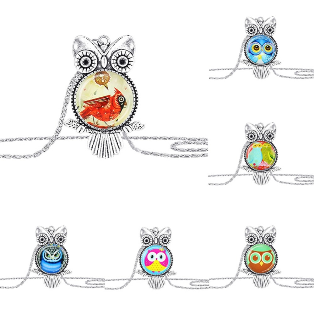Fashion Romantic Cute Owl Long Sweater Chain Pendant Necklace For Women New Design Accessories High Quality