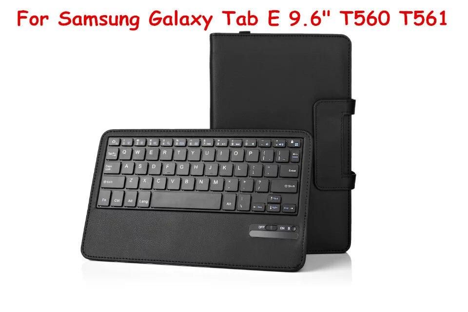 For Samsung Galaxy Tab S2 8.0 T710 T715 Tablet Detachable ABS Bluetooth Keyboard Portfolio Folio Slim PU Leather Case Cover