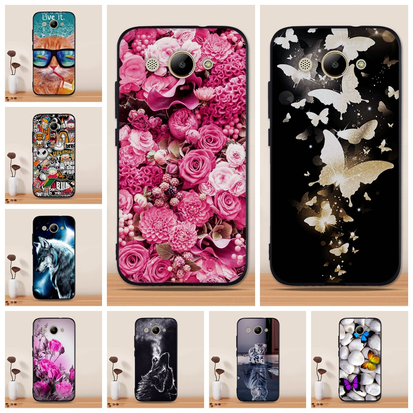 Case For Huawei Y3 2017 Case Silicone Cover for Huawei Y5 Llite 2017 Cover Silicon Soft TPU Case for Huawei Y3 2017 Phone Case
