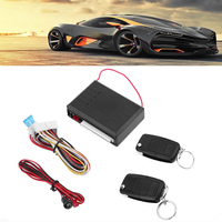 Universal 12 V Car Auto Remote Central Kit Door Locking Vehicle Keyless Entry System With Remote