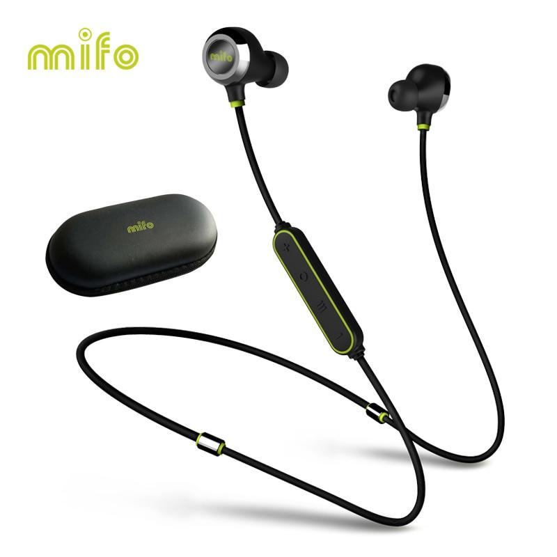 Magnétique Neckband Sans Fil Écouteurs Bluetooth Écouteurs Entraînement Sport Étanche Casque Anti-sueur Stéréo Casque Pour la Course