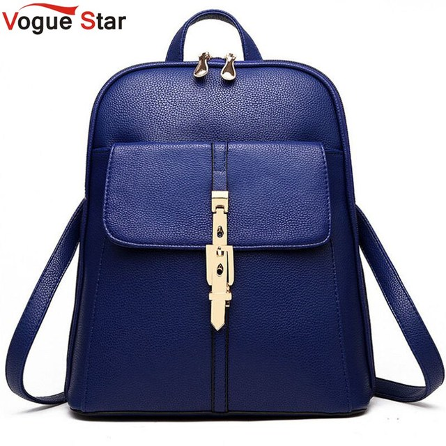 Vogue Star 2017 backpacks women backpack school bags students backpack  ladies women s travel bags leather package 4d59bf4777c45