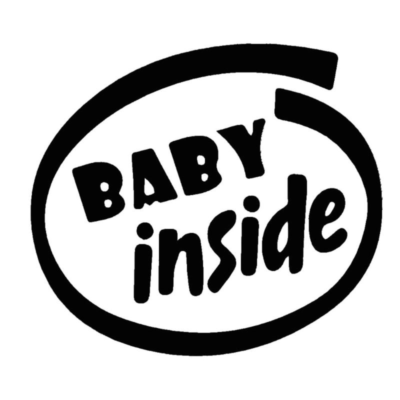 detail feedback questions about funny baby inside warning letter New Android Box packages 1 x car sticker