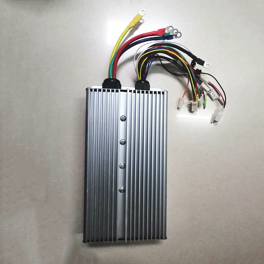48V 60V 72V 3000W Brushless Controller 80A 30Mosfet for BLDC motor electric bike ebike tricycle motorcycle