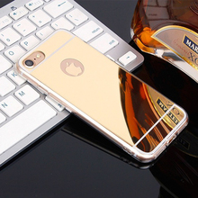 Luxury Mirror TPU Phone Case Ha on For iPhone 5 5S 6 6S 7 Plus 7Plus 6Plus 4 4S SE Cases Crystal Light Back Cover Brand AKTIMO(China)